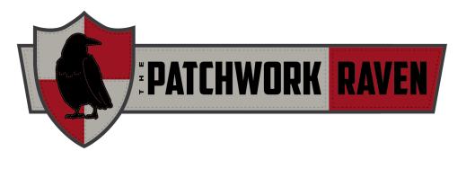 Patchwork Raven Logo
